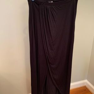 NEW WITH TAGS -- ASOS Maxi Wrap Slit Skirt (12)
